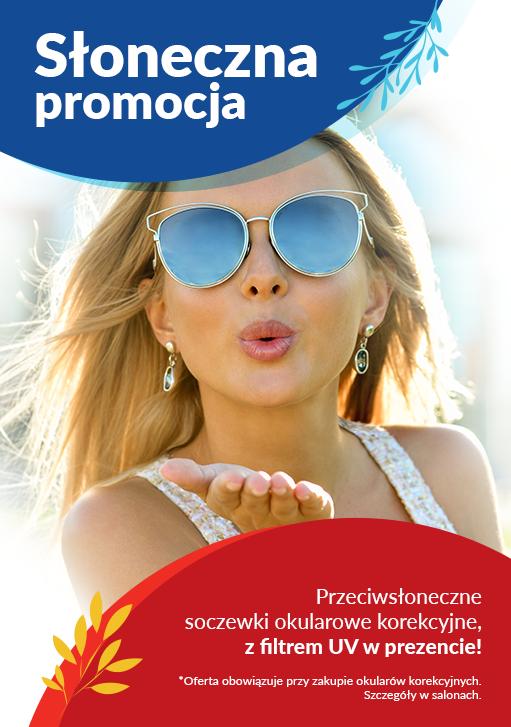 okulary przeciwsłoneczne promocja soczewki korekcyjne przeciwsłoneczne