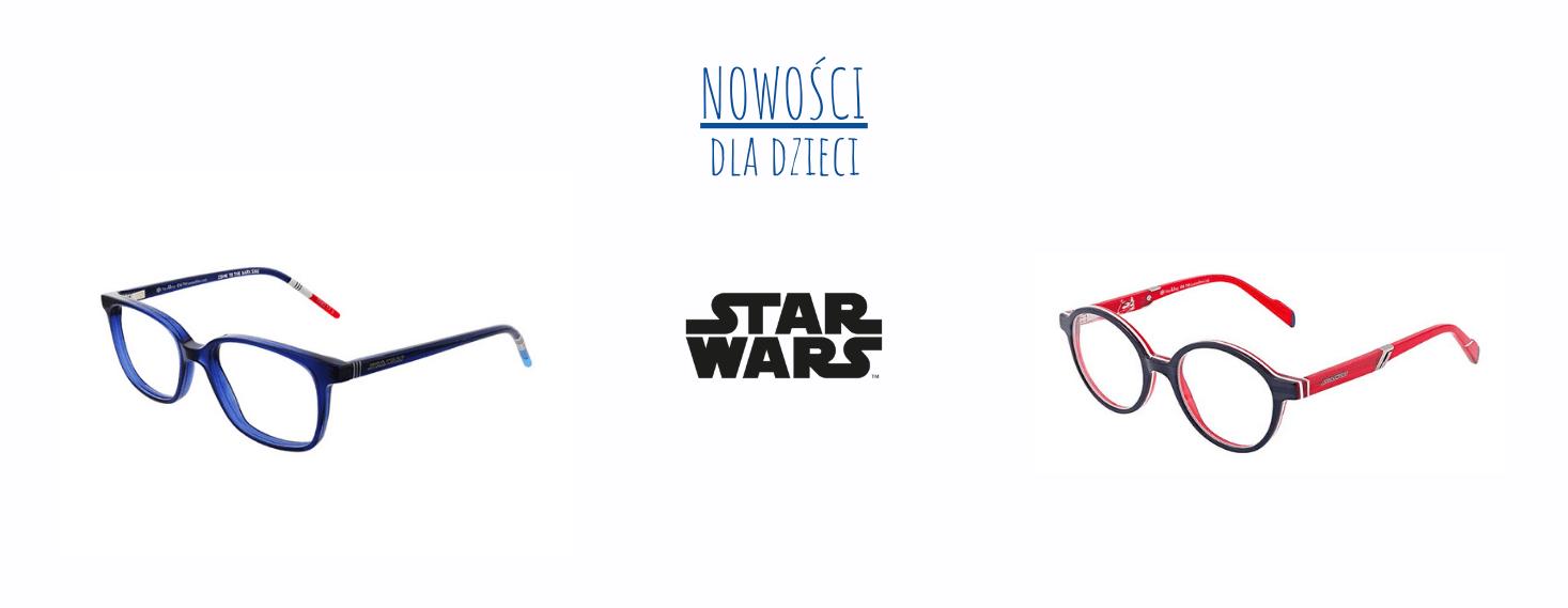 okulary korekcyjne oprawki chłopięce star wars dla chłopca