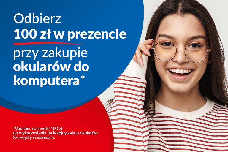 optyk nowy sącz voucher 100 okulary korekcyjne okulista