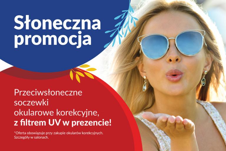 okulary przeciwsłoneczne promocja